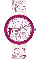 Lacoste Goa Silicone - White/Pink Unisex watch #2020065