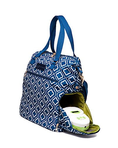 Sarah Wells Lizzy Breast Pump Bag (Navy) by Sarah Wells (Image #5)