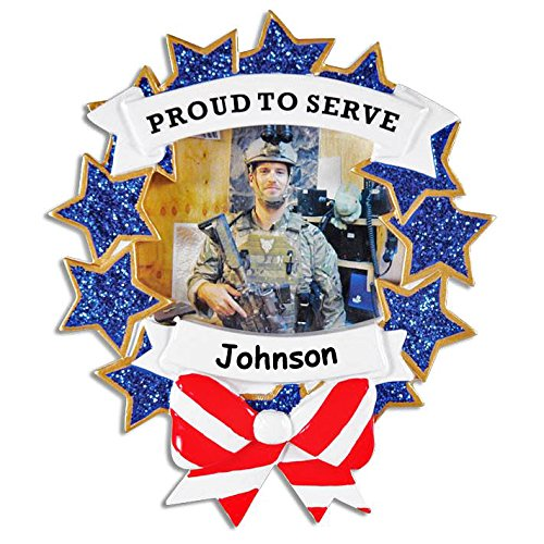 Personalized Proud to Serve Armed Forces