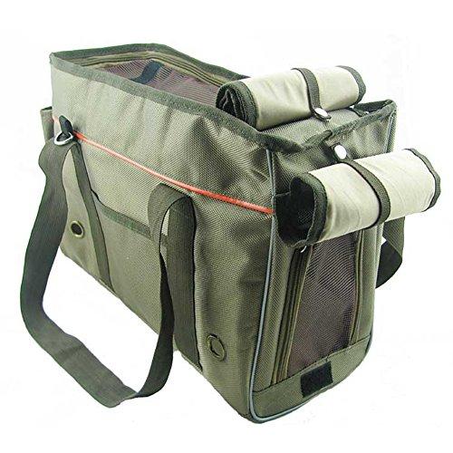 OneTigris Traveling Dog Duffle Bag Cat Package Bag Pet Carrier Handbag with Removable Shoulder Strap (Small)