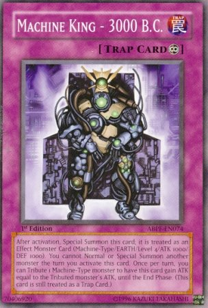 Yu-Gi-Oh! - Machine King - B.C. 3000 (ABPF-EN074) - Absolute Powerforce - 1st Edition - Common