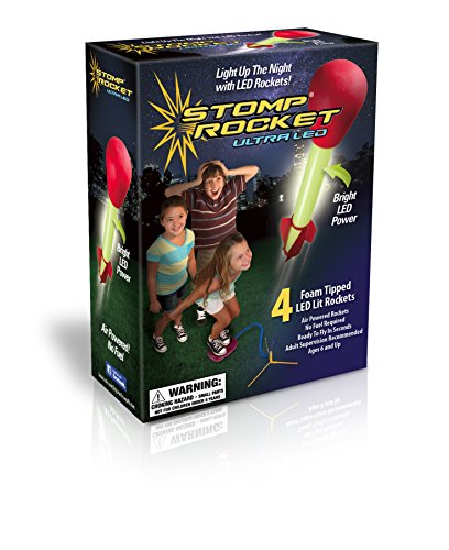 The Original Stomp Rocket: Ultra LED 4-Rocket (Ultra Stomp Rocket)