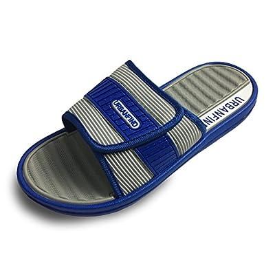 URBANFIND Men's Fashion Lightweight EVA Stripe Slide Slipper