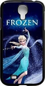 Disney Frozen Samsung Galaxy S4 Case Cover - Disney Frozen Samsung Galaxy S4 Hard Plastic Case Cover - Black