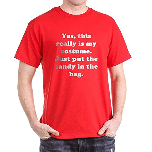 CafePress Yes, This Really Is My Costume 100% Cotton T-Shirt Red ()