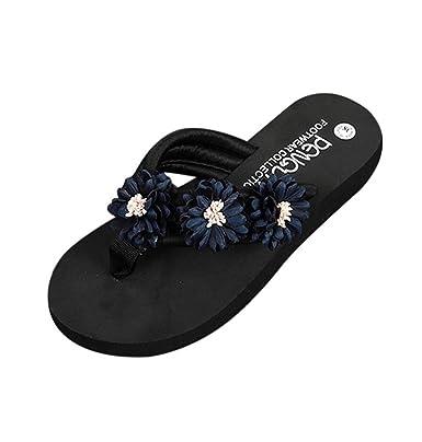 Damen Sandalen Xinan Sommer Mode Leder Flach Boden Keilabsatz