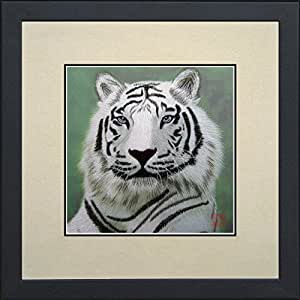 Amazon.com: King Silk Art 100% Handmade Embroidery Framed