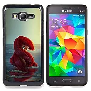 Stuss Case / Funda Carcasa protectora - Chica Pelirroja Océano Niños'S - Samsung Galaxy Grand Prime G530H/DS