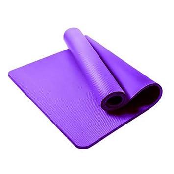 HYTGFR 15mm Estera de Yoga Grosor de Yoga Esteras ...