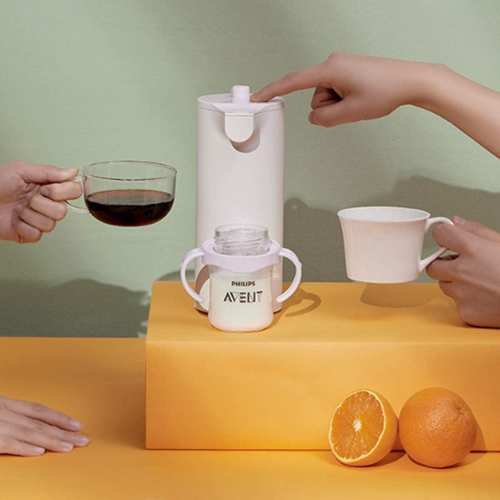 Dispensador de agua caliente Mini Instantáneo Pequeño De Escritorio Portátil De Bolsillo (Color : Blanco, Size : 19.9 * 11 * 8.3cm): Amazon.es: Hogar