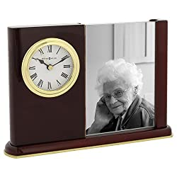 Portrait Caddy Memorial Mantel Clock by Howard Miller, Model 645-498