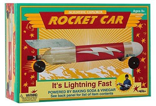 POOF-Slinky 0SA203 Scientific Explorer Rocket Car Science Kit Model: 0SA203