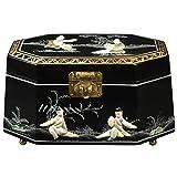 ORIENTAL FURNITURE Antoinette Jewelry Box - Black