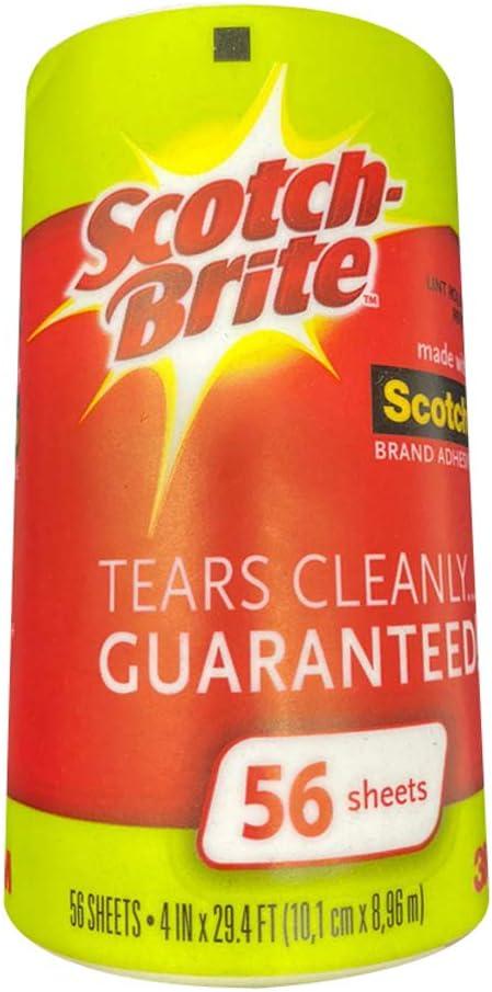 Scotch-Brite Lint Roller Refill, 12 Refills