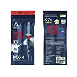 Arctic MX-4 2019 Edition Thermal Compound Paste for All Coolers, Heat Sink Paste, Carbon Based High Durability, Composed of Carbon Micro-Particles, with Bonus Tool - 4g (1 Pack)