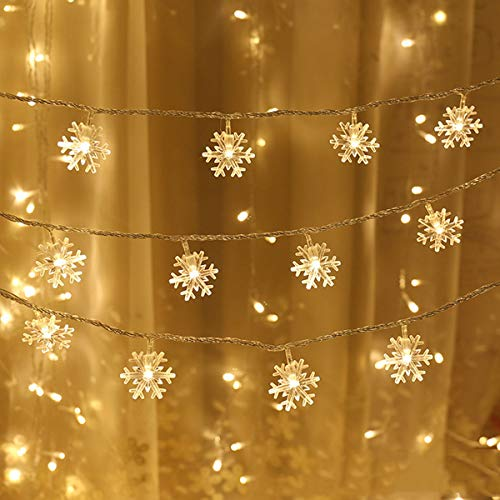 Outdoor Snowflake Light String in US - 6