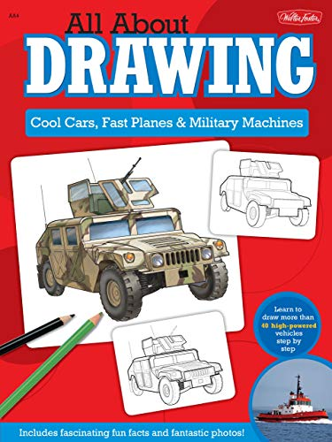 All About Drawing Cool Cars: Learn to draw more than 40 high-powered vehicles step by step
