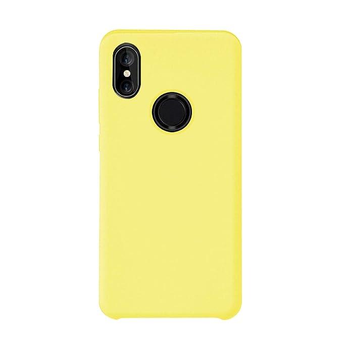 Funda Xiaomi Mi A2 Silicona Ultra Suave TPU Gel Protectora Carcasa Caja Ultra Delgado Anti-Arañazos Absorción Impacto Cover para Telefono Xiaomi Mi 6X ...