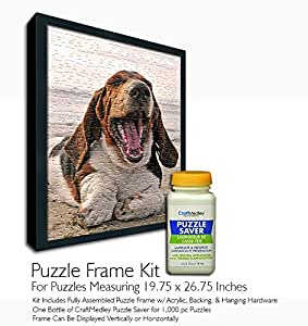 Amazon Com Jigsaw Puzzle Frame Kit For 19 75x26 75 Inch