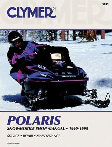 polaris snowmobile 90 95 clymer snowmobile repair series penton rh amazon com Polaris 650 Triple Snowmobile Wiring-Diagram 2001 polaris snowmobile service manual pdf