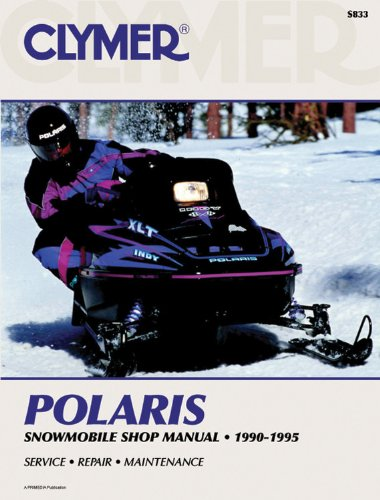 Polaris Snowmobile 90-95 (Clymer Snowmobile Repair Series) (Vases Polaris)