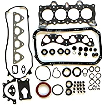 Scitoo Head Gasket Set Fits 88-95 Honda Civic Del Wagovan DX LX CX 1.5L SOHC D15B7 D15B2