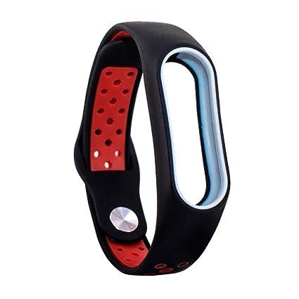 Correas para Relojes Deportivos Mi Band 2, Malloom Smart Wristband Correa de Pulsera de Recambio