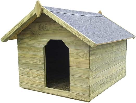 Tidyard Casas de Perros para Jardín,Caseta de Exterior para Perros ...