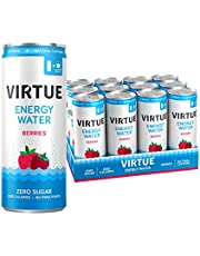 Virtue Berries Healthy Energy Sparkling Water (Pack of 12), 3000 ml