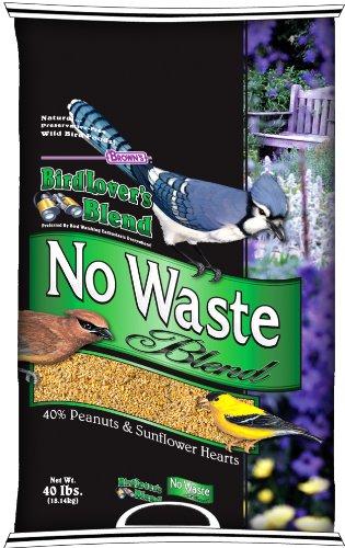 F.M. Brown's Bird Lovers Blend, 40-Pound, No Waste Blend, My Pet Supplies