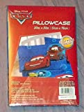"""DISNEY PIXAR CARS PILLOWCASE~MCQUEEN AND MATER~SIZE 20"""" x 30"""" ~ BRAND NEW, SEALED IN PACKAGE"""