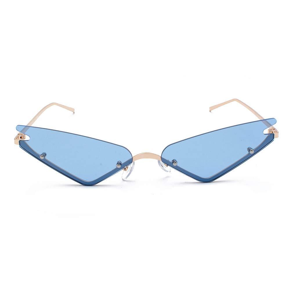 SERYU Polarized Sunglasses for Women, Mirrored Lens Fashion Goggle Eyewear Blue