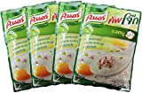 Knorr Cooked Organic Thai Jasmine Rice Porridge, Pork, 35 Gram (Pack of 4)