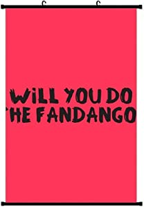 Will You Do The Fandango Jigsaw Puzzle Anime Living Room Bedroom Home Decoration Gift Fabric Wall Scroll Poster (24x36) Inches