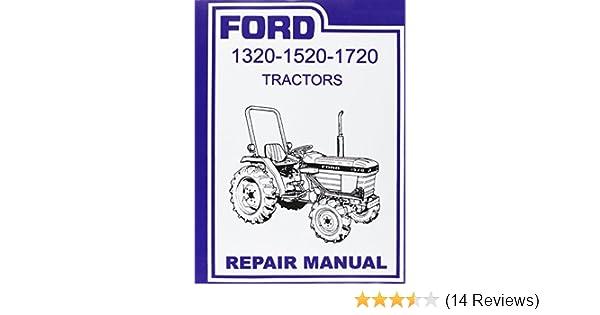 diagram ford tractor 1320, 1520, 1720 factory repair shop & service  manual on ford tractor ford tractor wiring