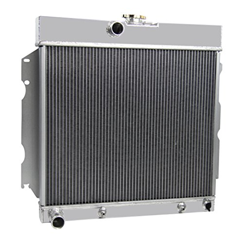 Primecooling 3 Row All Aluminum Radiator for 1963-69 Dodge Plymouth Dart /Charger /Coronet /Fury Belvedere, More V8 Models