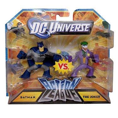 DC Universe 2.25 inch Mini Action League 2-Pack – Batman vs. The Joker