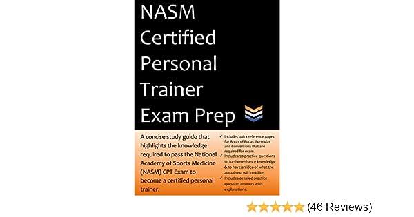 amazon com nasm personal trainer exam prep 2018 edition study rh amazon com MRI CPT Codes List CPT Codes