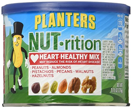 Planters Nutrition Heart Healthy Snack Nuts Mix