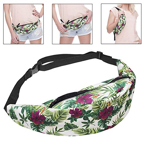 Women's Bag 4 Cloth Camouflage Waist Pouch Outdoor Oxford Printed Bum Heart Flower Momangel xwgTqaFW