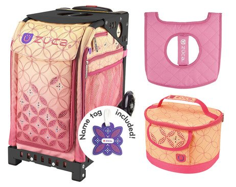 ZUCA Sport Bag - Sunset with gift Lunchbox and Seat Cover...