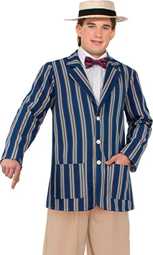 Halloween Fancy Dress Party Old Classic The Great Gatsby Male Boater Jacket (Great Gatsby Costumes For Men)