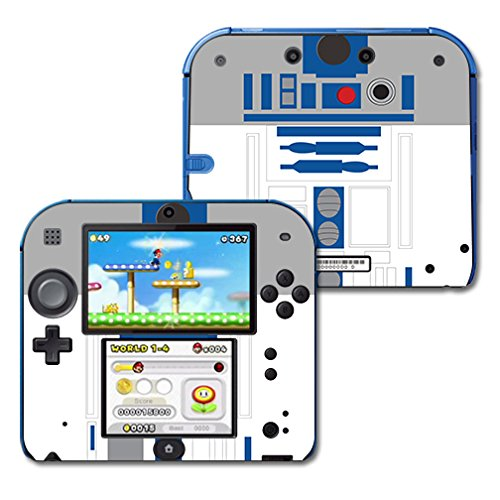 MightySkins Skin Compatible with Nintendo 2DS wrap Cover Sticker Skins Cyber Bot (Super Robot Wars Ds)