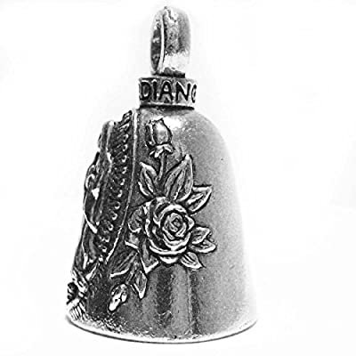 Guardian Virgin Mary Motorcycle Biker Luck Gremlin Riding Bell or Key Ring: Automotive