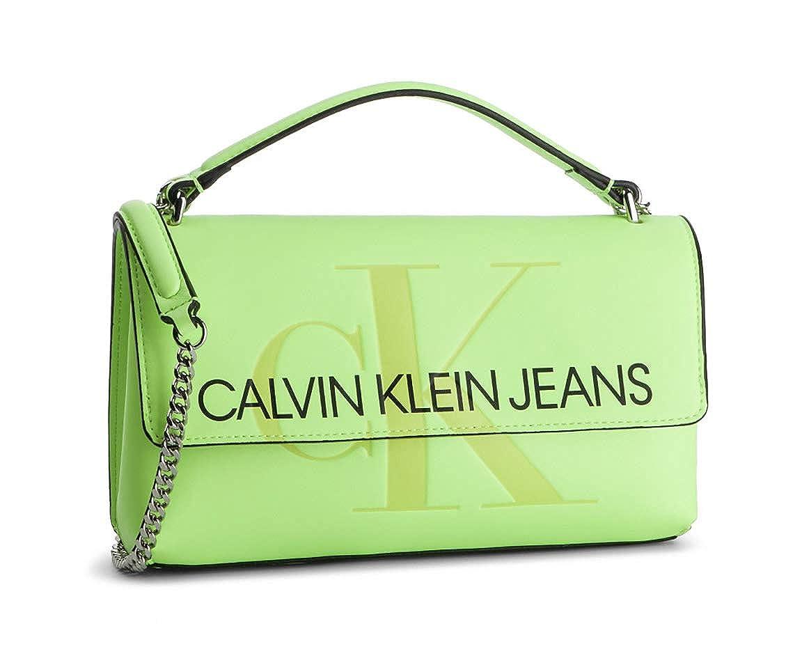 Calvin Klein - Sculpted Monogram E/w Flap, Monederos Mujer ...