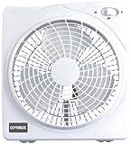 Appliances : Optimus F-1022 10-Inch 2 Speed Box Fan, White