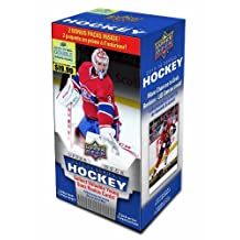 2013-14 Upper Deck Series 1 Blaster Box hockey cards with 12 Packs
