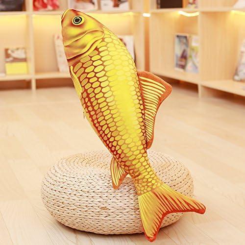Fish Carp Stuffed Animal Pillow Cushion Animal Kids Toy Birthday Gift Home Decor