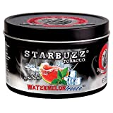Watermelon Freeze Bold Black 100g grams Starbuzz Tin Can Free S and L Male and Female Hookah Tips Sold By S and L Star Buzz