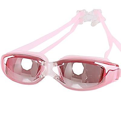 CHENGYANG Lunettes de natation,Hommes et Femmes, Antibuée Etanches, avec Protection UV